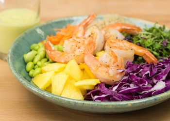 Pineapple Shrimp Buddha Bowl Recipe
