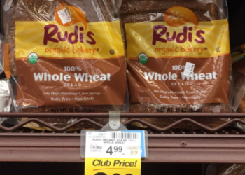NEW Rudi's Bread Coupon, Only $2.99