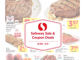Safeway Sale and Coupon Deals 8/30 – 9/5