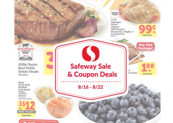Safeway Sale and Coupon Deals 8/16 – 8/22