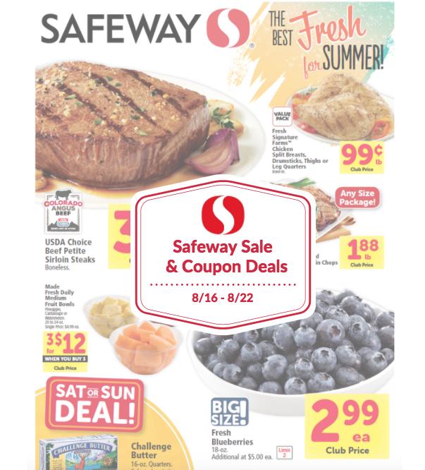 Safeway coupon matchups this week