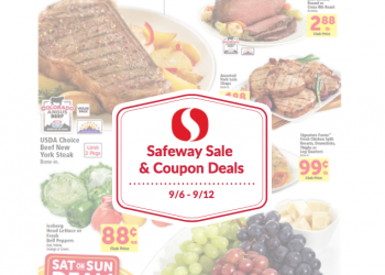 Safeway Sale and Coupon Deals September 6th – 12th