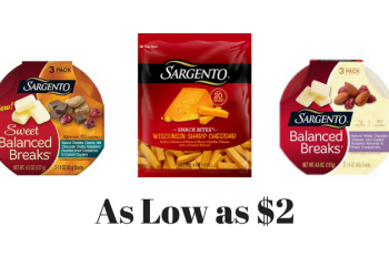 NEW Sargento Coupons – Pay as Low as $2.00