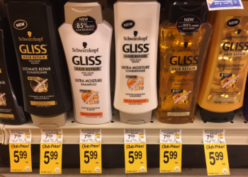 FREE Schwarzkopf Gliss Hair Care at Safeway – Save $7.99