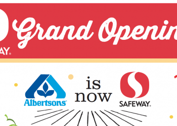 HOT Grand Opening Specials for Colorado Springs Albertsons Stores Converting to Safeway Banner