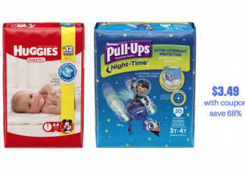Huggies Catalina at Safeway – Pay Just $3.49 for Diapers and Pull-ups