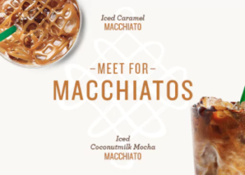 Starbucks Macchiatos – Buy 1, Get 1 FREE
