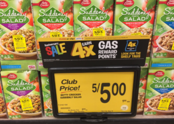 FREE Suddenly Salad at Safeway With a NEW Coupon