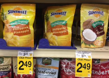 Sunsweet Pacific Tropicals Coupon, Only $1.49 for Dried Fruit
