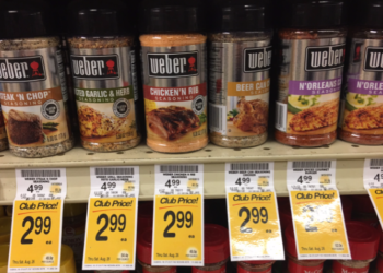 Weber Coupon, Pay $2.49 for Seasoning – Save 50%