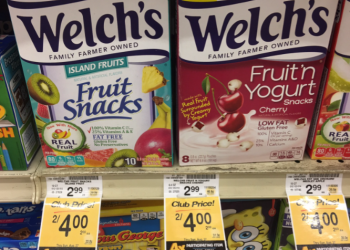NEW Welch's Fruit Snacks Coupon – Pay as Low as $1.00