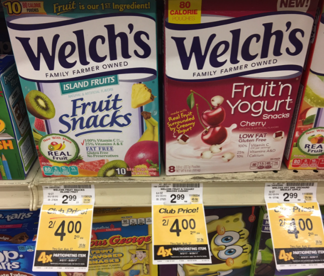 Welch's coupons