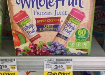 Whole Fruit Frozen Juice Tubes for $1.99 – $0.33 a Serving