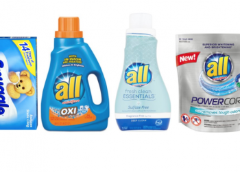 All Fresh Clean Essentials Detergent $1.49 | Snuggle Fabric Softener $1.99 With Sale and Coupon
