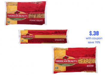 American Beauty Pasta Coupon and Sale | Pay Just $.38 Each