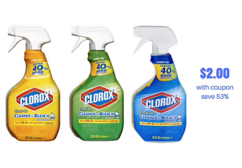 clorox cleaners sale