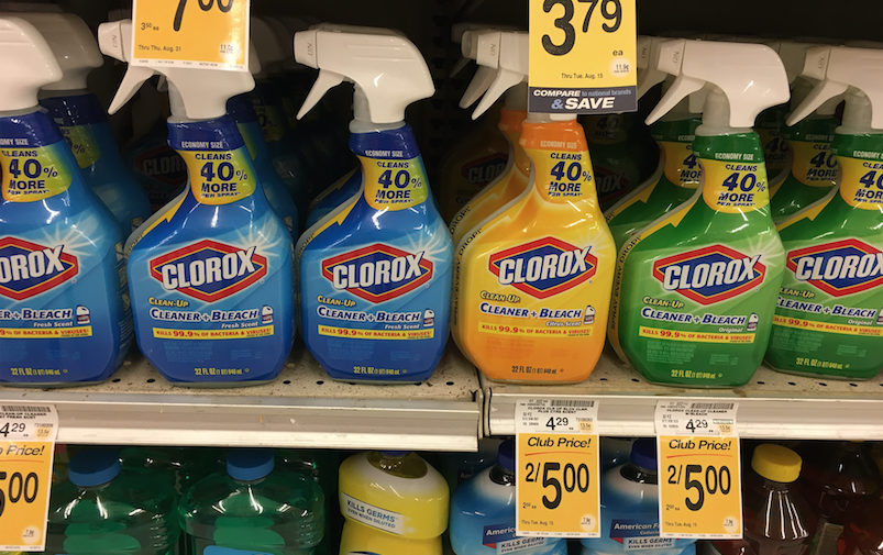 clorox cleaners