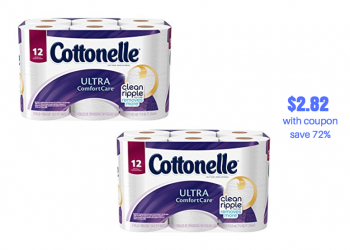 Cottonelle Catalina at Safeway | Pay just $2.82 With Coupon Stack, Save 72%