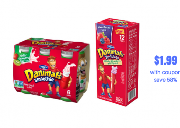 NEW Danimals Coupon and Sale – Save on Yogurt Tubes and Drinks
