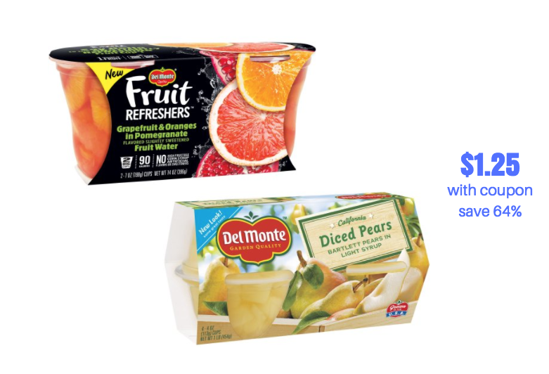 del monte red grapefruit coupons