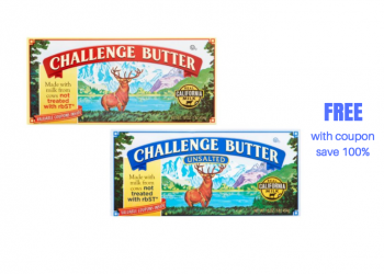 FREE Challenge Butter With Coupons at Safeway