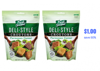 Fresh Gourmet Croutons Just $1.00 at Safeway