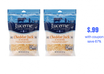 Lucerne Cheese Just $.99 With New Coupon, Save 67%