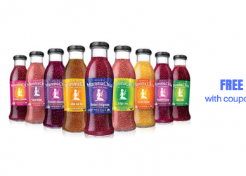 FREE Mamma Chia Organic Energy Beverages With Coupons at Safeway