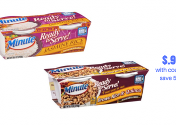 New Minute Ready To Serve Rice Coupon | Pay Just $.99 at Safeway