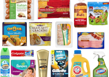 75 New Coupons available to Print – Save on Clorox, Neutrogena, Oscar Mayer, Butterball and More!