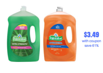 Palmolive Dish Soap Just $.05/oz With Sale and Coupons – Better Deal than Last Week