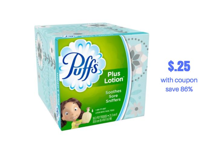 Facial tissue printable coupon-7281