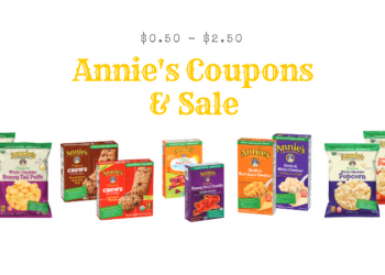 Annie's Products on Sale – $0.50 Macaroni & Cheese, $2.00 Snacks, and $2.50 Granola Bars