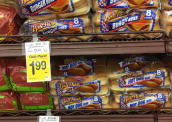 Ball Park Buns Coupon, Only $0.99