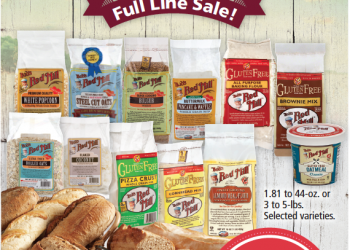 30% off Bob's Red Mill Sale and Coupons – Get Oats and Oatmeal for $.09 and More Hot Deals!