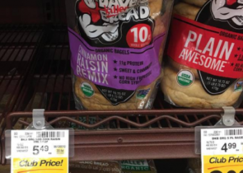 Dave's Killer Bread Organic Bagels For as Low as $2.74 -Save Up to 50%