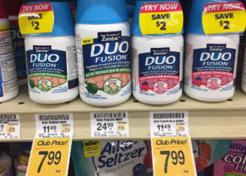 NEW Duo Fusion and Zantac Coupon, Only $3.99 – Save 65%