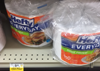 Hefty Plates Coupon, Pay $2.49 for 100