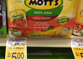 Mott's Juice Coupon, Only $1.50 For an 8 Pack – $0.19 a Serving