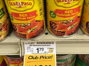 Old El Paso Coupons, Only $0.50 for Refried Beans and Enchilada Sauce