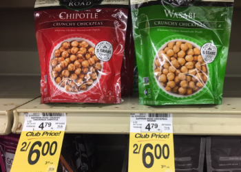Saffron Road Coupon, Pay as low as $0.75 for Crunchy Chickpeas