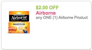 airborne coupon