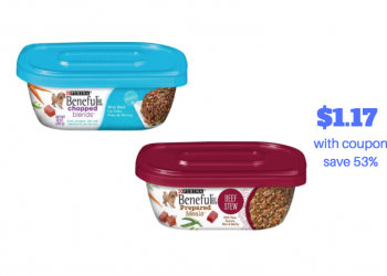 Purina Beneful Prepared Meals Just $1.17 each With Sale and Coupon, Save 53%