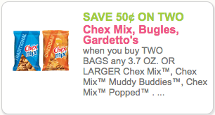 Chex mix 15 oz value size just with coupon and sale for Coupons for factory direct craft