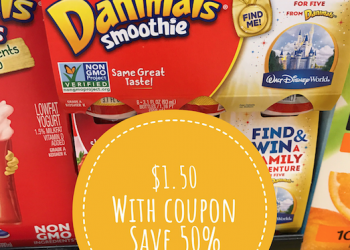Danimals Yogurt Smoothie Drinks Just $1.50 With New Sale and Coupon
