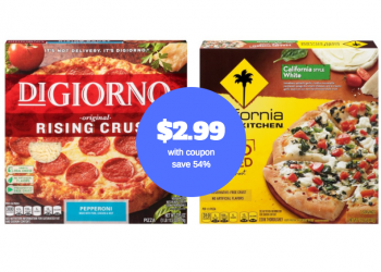 DiGiorno Pizza Coupon – Pay as low as $2.99 (Reg. $6.49, save 54%)