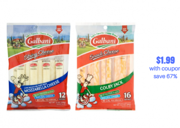 Galbani String Cheese Just $1.99 With New Sale and Coupon