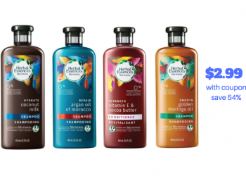 Herbal Essences Bio Renew Hair Care Just $2.99 With Sale and Coupon (Reg. $6.49)