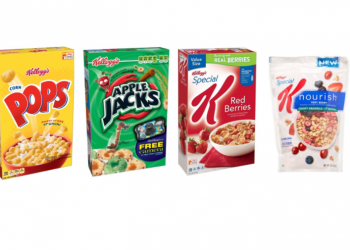 Kellogg's and Special K Cereals on Sale and New Kellogg's Coupons – Pay as low as $.99