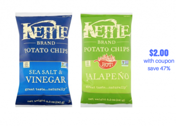New Kettle Brand Chips Coupon and Sale at Safeway, Save 47%